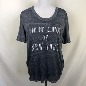 Free People Night Moves of New York burnout top
